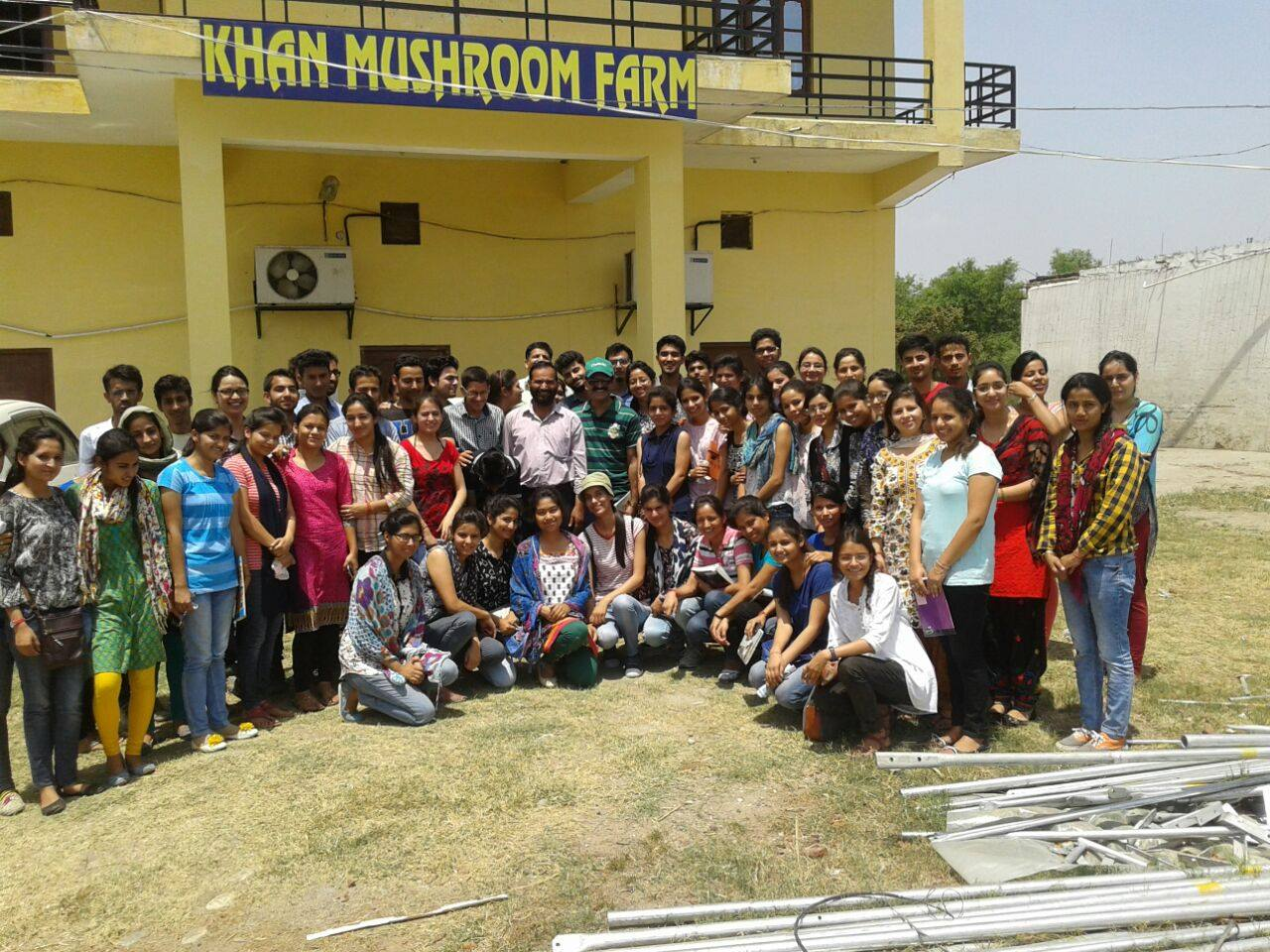 Khan Mushroom Farm & Training Centre